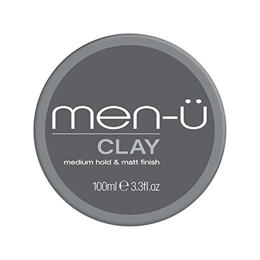 ハウジング付添人ルーフ男性-粘土(100ミリリットル) x4 - Men-? Clay (100ml) (Pack of 4) [並行輸入品]