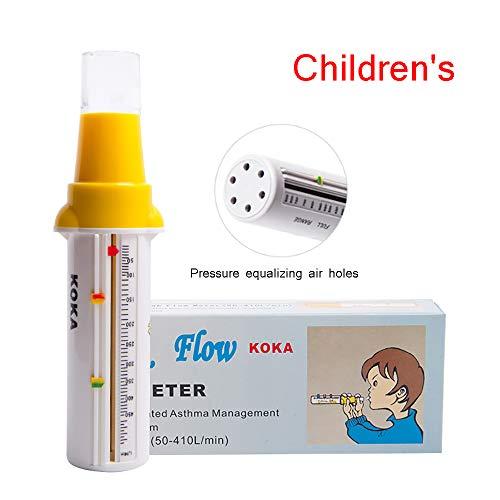 Portable spirometer piekstroommeter voor Lung Astma Detector Breath Functie Monitor voor Volwassenenonderwijs Kids