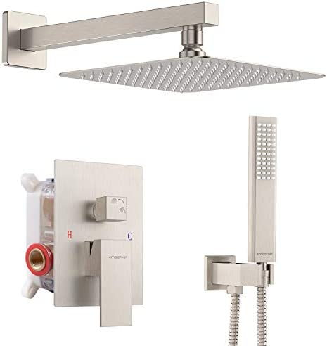 EMBATHER Shower System Shower Faucets Sets Complete For Bathtroom California Certified 10 Inches product image