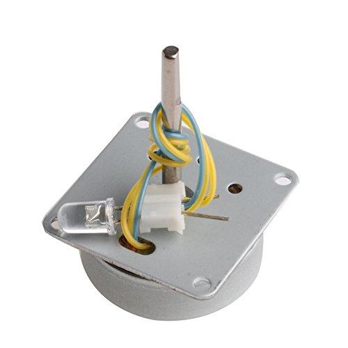 JOYKK Mini Micro 3-phasig Wechselstrom Windkraftanlagen Generator Generator 3V-24V - Silber