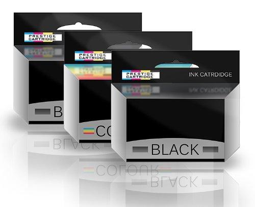 COMBO PACK - Rebuilt No. 32 & No. 33 Tintenpatronen für Lexmark Drucker F4350, Home Copier Plus, P4330, P4350, P450, P6200, P6250, P6350, P910, P915, X3310, X3330, X3350, X4300, X5250, X5260, X5270, X5410, X5450, X5470, X5470 Business Edition, X6300, X7170, X7310, X7350, X7350 Business Edition, X3310, X3350, X3350 Business Edition, Z800, Z805, Z812, Z815, Z816, Z817, Z818 - EIN SET PLUS EIN SCHWARZ