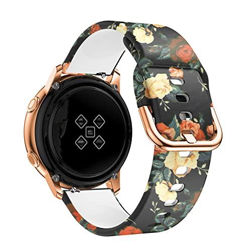 LXFFCOK BEHUA - Pulsera de reloj inteligente para Huami Amazfit Bip juventud/BIP lite/GTS 20 mm de repuesto de silicona (color de la correa: D, ancho de la correa: Amazfit GTS 20 mm)