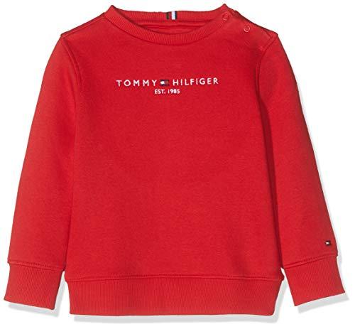 Tommy Hilfiger Essential CN Sweatshirt Set 1 Felpa, (Blue Cbk), 86 Bimbo