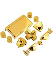 Chrome Gold buttons for ps4 controller