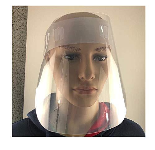 Visiera protettiva trasparente in pvc regolabile e ribaltabile proteggi viso