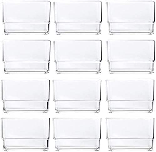 Nippon regular agency KCHEX Clear Plastic Desk Recommended Drawer Organizers x Set 3