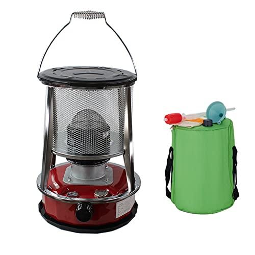 HXGLPSNG 4.6L Kerosin-Ofenheizung, Bratenöfen mit Aufbewahrungstasche, tragbarer Kerosin-Ölkocher für Eisfischen Camping Home