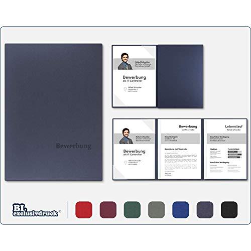 STRATAG 5 Stück 3-teilige Bewerbungsmappen BL-exclusivdruck Bild