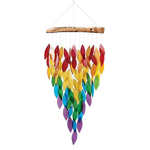 Gift Essentials GEBLUEG521 Deluxe Rainbow Waterfall Chime