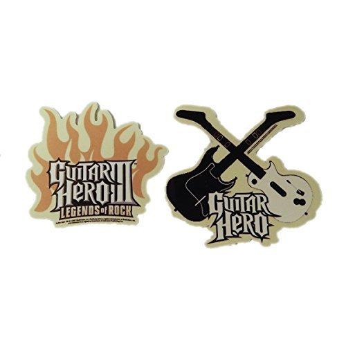 Juego de pegatinas de Guitar Hero III Legends of Rock