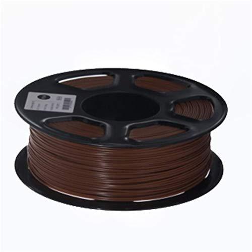 L-SHUNBAO LSB-3D Prints, 1pc 3D Printer Filament PETG 1.75mm 1 kg / 2,2 LB Plastique PETG Filament Consommables PETG Matériel for imprimante 3D Filament (Couleur : Coffee)