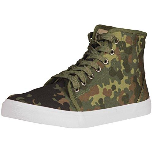 Ejército Zapatilla de deporte camuflaje - Flecos Camuflaje, 46