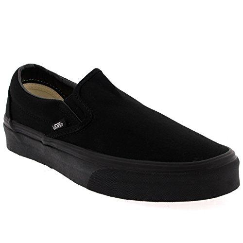 Zapatillas de deporte de lona para mujer, estilo clásico, sin cordones, estilo...