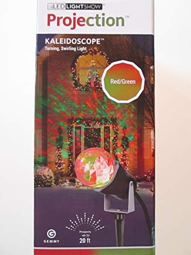Gemmy Lightshow Projection- Kaleidoscope -Red/ Green