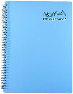 楽譜ファイル File PLUS +Do 書込みOK リング式 30ポケット A4サイズ 60ページ (03.スカイブルー)