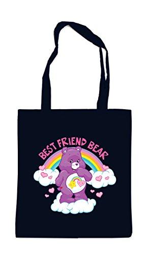 Certified Freak Best Friend Bear Bag Black