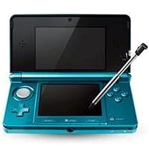 Nintendo, Nintendo 3DS Aqua Blue (Catalog Category: Videogame Hardware / DS/DSi/DSi XL)