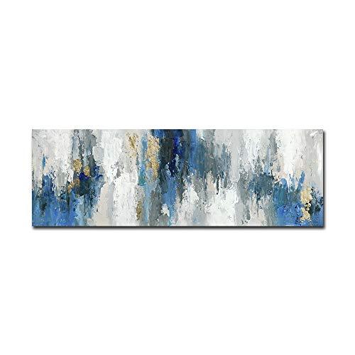 FajerminArt Cuadro en lienzo – Arte abstracto moderno lienzo pintura al óleo, cuadro de pared de lienzo para decoración de la sala de estar, sofá o hogar (sin marco ni estructura)