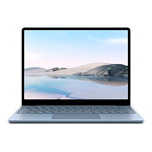 Microsoft Surface Laptop Go, 12,45 Zoll Laptop (Intel Core i5, 8GB RAM, 128GB SSD, Win 10 Home in S Mode) Eisblau