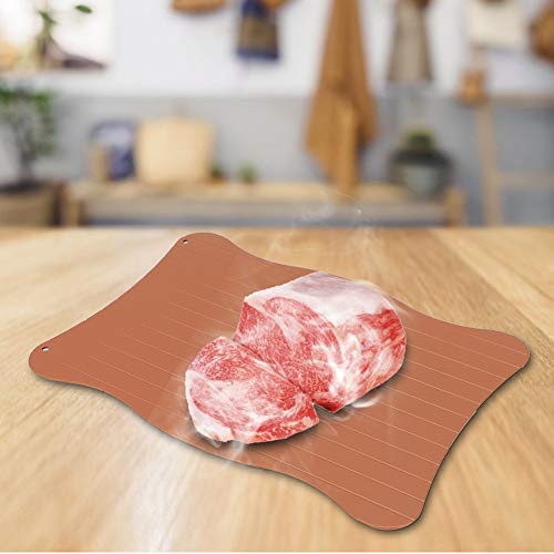 Auftauen Fleisch Fischfutter Auftauteller, Auftauteller, für gefrorenes Fleisch(0.2cm)