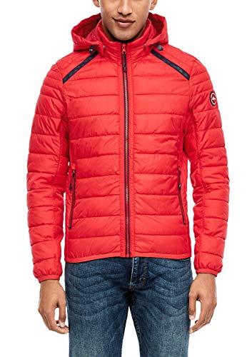 s.Oliver Herren 28.001.51.2002 Jacke, red, Large (Herstellergröße: L)