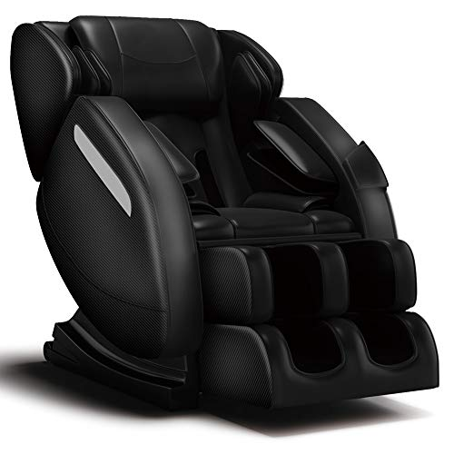 FOELRO Full Body Massage Chair,Zero Gravity Shiatsu Recliner with Air Bags,Back...
