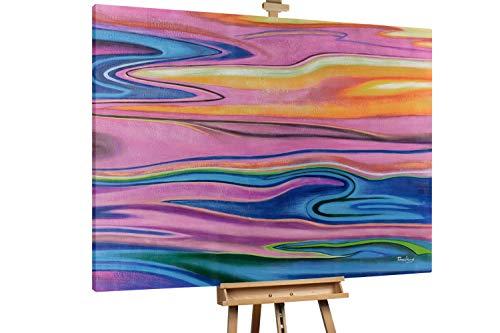 'Freudenschrei' 200x150cm | Abstrakt Bunt Deko XXL | Modernes Kunst Ölbild