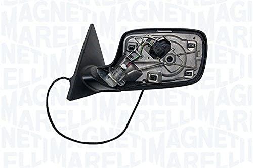 Magneti Marelli 182203004700 Cuerpo retrovisor eléctrico s/Tapa s/Cristal térmico Negro Rugoso dch