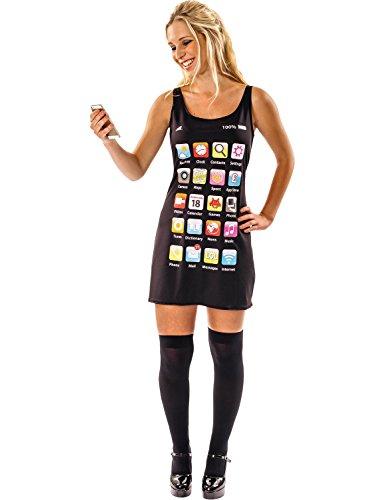 ORION COSTUMES Déguisement Adulte Robe Téléphone Portable Costume Femme