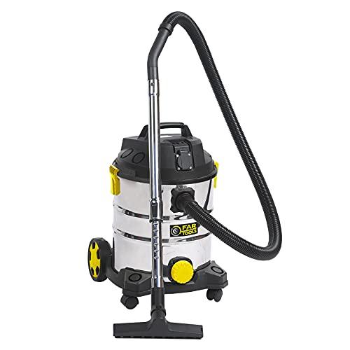 Fartools NET-UP25IA Aspirador líquidos y sólidos Potencia 1400 W cuva inox 25L