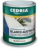 Lasur protector madera exterior al agua Cedria Blanco...