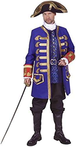 Deiters Piratenjacke Barbossa Schwarzrot L