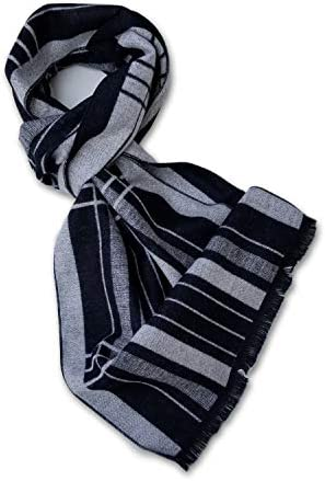 StrayKat Men s Silk Viscose Luxury Soft Reversible Scarf Designer Gift Box O S Madras Plaid product image