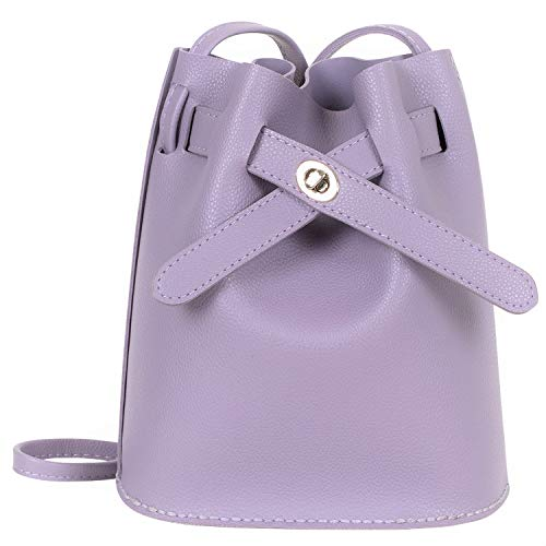 DIY Leather Bucket Bag - Make Your Own Bag. Sewing Craft Kit Crossbody Purse...