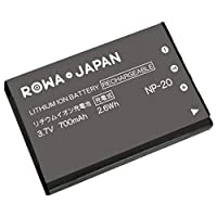 CASIO カシオ NP-20 互換 バッテリー EX-M20 EX-S20 EX-S880 対応 ロワジャパンPSEマーク付