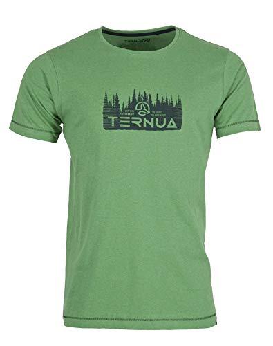 Ternua Camiseta Hansi SL T-Shirt M Hombre, Peacock Green, XXL