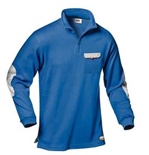 Polo-Shirt Zara (koenigsblau/grau) S