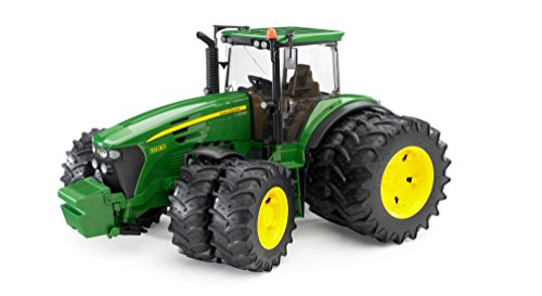 Bruder John Deere 7930 1:16 Scale Double Wheeled Tractor, Ages 4+