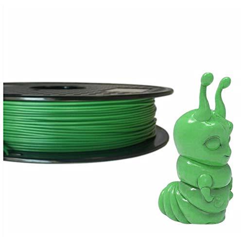 PVB-Filament 1,75mm, 3D-Druckerfilament 0,5kg, Alkoholpolierunterstützungsmaterial-Grün