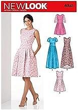 New Look Patterns UN6341A Misses' Dress, A (6-8-10-12-14-16-18)