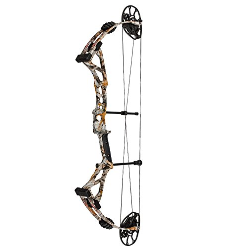 Darton 60-70 lb. Left Hand Limited Edition Black Riser and Vista Camo Limbs DS700SD Bow Short Draw Package