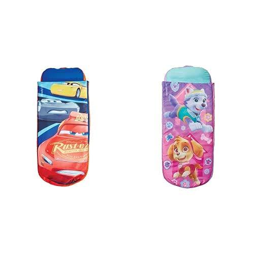 Disney Cars - Junior-ReadyBed – Kinder-Schlafsack und Luftbett in einem & Paw Patrol - Junior-ReadyBed – Kinder-Schlafsack und Luftbett in einem