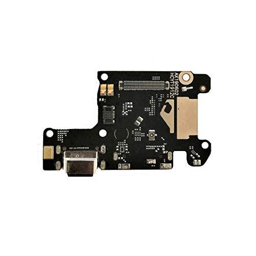 Compatible con Xiaomi Redmi K20 / K20 Pro/Mi 9T / Mi 9T Pro Flat Flex sub Board Dock Micro USB Jack Puerto Entrada USB para conector cable carga + micrófono Sync datos