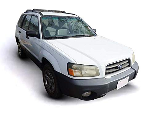 Representative 2004 Forester shown. Subaru