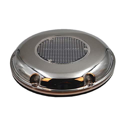 LKK-KK De escape de acero inoxidable solar del ventilador de escape Caravana Toldo RV del techo del ventilador del barco Extintor