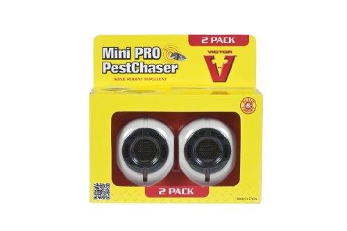 Victor Lot de 2 Répulsifs à ultrasons anti-rongeurs Mini Pro Pest Chaser Sonic #M752P-E