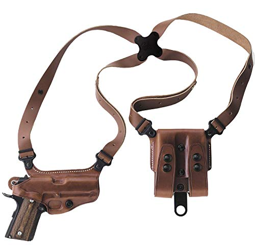 "Galco Miami Classic Shoulder Holster System Tan Compatible with 3""-5"" 1911"