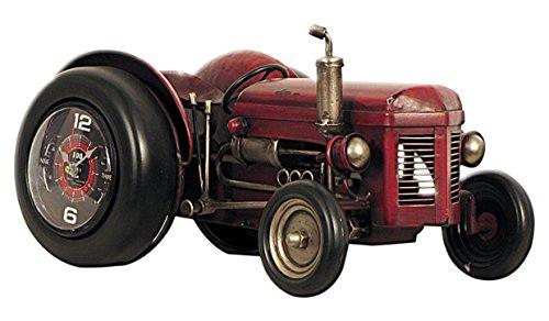 Carrick Design - Reloj de Pulsera (40 x 25 x 21 cm, Metal, 46 x 25 x 32 cm), diseño de Tractor Rojo