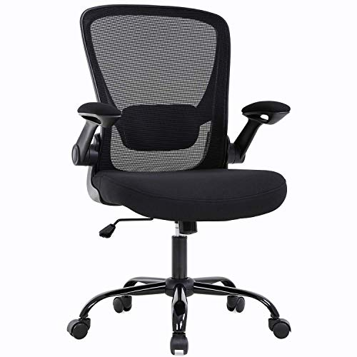 Ergonomic Desk Chair Mesh Computer Chair Chair for Home Office Swivel Mobile Executive (1)