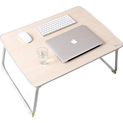 Tabla plegable ligeros Plegable pequeña mesa for estudiantes universitarios compartida, puso en el dormitorio, multi-función de escritura, aprendizaje perezoso tabla Tabla plegable ajustable